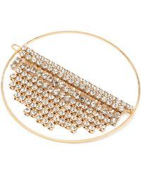 Rosantica By Michela Panero - Strobo Crystal Embellished Hair Clip - Lyst