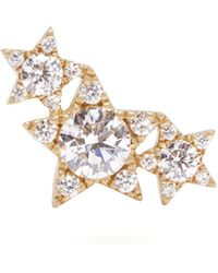 Maria Tash - Diamond & 18kt Gold Single Earring - Lyst
