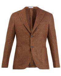 Boglioli - Single-breasted Wool-blend Blazer - Lyst