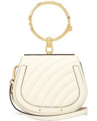 Chloé - Nile Small Quilted Leather Cross Body Bag - Lyst