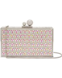 Sophia Webster - Clara Crystal-embellished Clutch - Lyst
