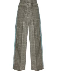 Racil - Nitta Houndstooth Wool-blend Trousers - Lyst