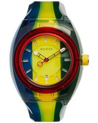 Gucci - Montre à rayures Sync - Lyst