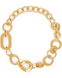 Balenciaga - Chain Link Necklace - Lyst