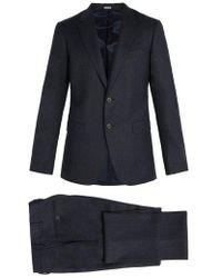 Lanvin - Virgin Wool And Cashmere-blend Suit - Lyst