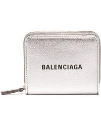 Balenciaga - Everyday Leather Purse - Lyst