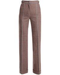 Gabriela Hearst - Shipton High-rise Wool-blend Trousers - Lyst