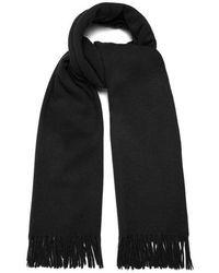 Acne Studios - Canada Fringed Wool Scarf - Lyst