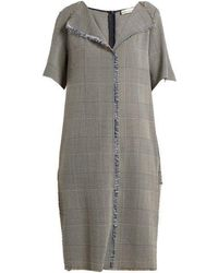 Golden Goose Deluxe Brand - Luciana Prince Of Wales-checked Dress - Lyst