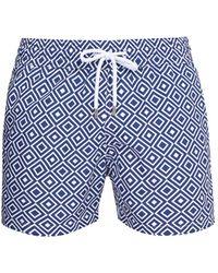 Frescobol Carioca - Sports Angra-print Swim Shorts - Lyst