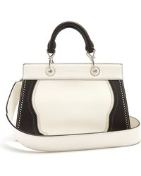 Altuzarra - Shadow Contrast-trimmed Small Leather Bag - Lyst
