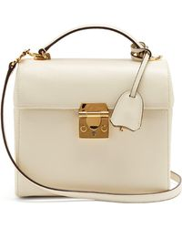 Mark Cross - Sara Saffiano Leather Bag - Lyst