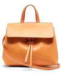 Mansur Gavriel - Mini Mini Lady Leather Cross-body Bag - Lyst