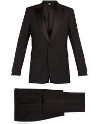 Burberry - Marylebone Wool Blend Tuxedo - Lyst
