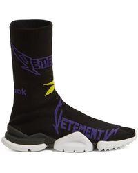 Vetements - X Reebok High-top Sock Trainers - Lyst