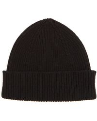 Paul Smith - Classic Ribbed-knit Cashmere-blend Beanie Hat - Lyst