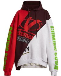 Vetements Deconstructed Hooded Sweatshirt