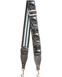 Valentino - Panther Embroidered Embellished Bag Strap - Lyst