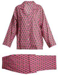 Rhode Resort - Berto Floral-print Pyjama Set - Lyst
