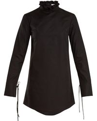 Cecile Bahnsen - Nelly Cotton Mini Dress - Lyst