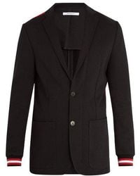 Givenchy - Ribbed-cuff Single-breasted Blazer - Lyst