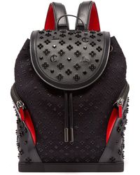 Christian Louboutin - Explorafunk Studded Leather Backpack - Lyst