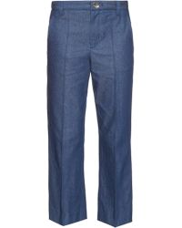 Marc Jacobs   Bowie Mid-rise Cropped Jeans   Lyst