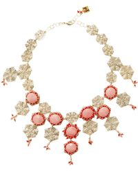 Rosantica By Michela Panero - Corte Beaded Necklace - Lyst