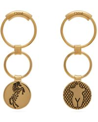 Chloé - Emoji Drop Earrings - Lyst