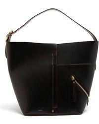 JOSEPH - Waverton Buckle-handle Leather Bag - Lyst