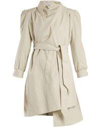 Balenciaga - Pulled Puff-sleeve Coat - Lyst