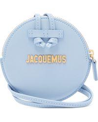 Jacquemus - Le Pitchou Leather Coin Purse Necklace - Lyst