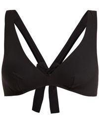 Araks - Rosemund Bow Detail Bikini Top - Lyst