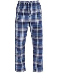 Derek Rose - Ranga Check Brushed Cotton Pyjama Trousers - Lyst