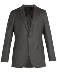 Kilgour - Single-breasted Wool And Cashmere-blend Blazer - Lyst