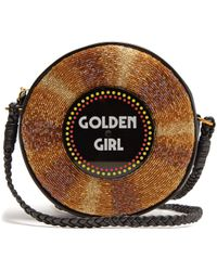 Sarah's Bag - Golden Girl Embellished Crossbody Bag - Lyst