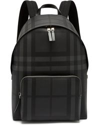 Burberry - London-check Pvc Backpack - Lyst
