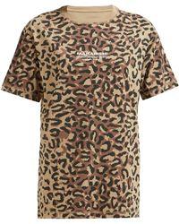 Maharishi - Leopard Camouflage Cotton T Shirt - Lyst