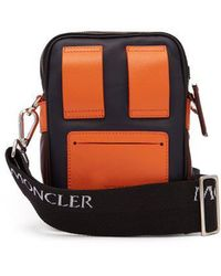 Moncler - Leather Camera Bag - Lyst