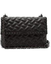 Bottega Veneta - Olimpia Small Quilted-leather Shoulder Bag - Lyst