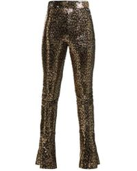 Halpern - High-rise Sequin-embellished Skinny Trousers - Lyst
