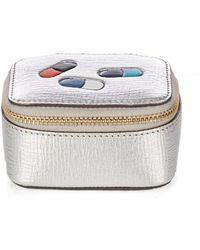 Anya Hindmarch - Pills Small Grained-leather Keepsake Box - Lyst