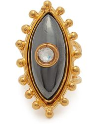 Sylvia Toledano - Third Eye Hematite Ring - Lyst