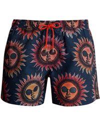 Paul Smith - Sun-print Swim Shorts - Lyst