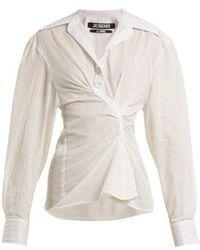 Jacquemus - La Chemise Maceio Cotton Shirt - Lyst