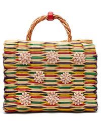Heimat Atlantica - Chito Reed Basket Bag - Lyst
