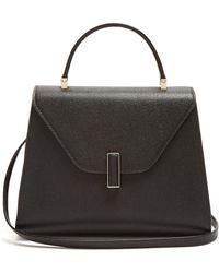Valextra - Iside Medium Grained-leather Bag - Lyst