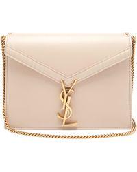 a3475f6d30 Saint Laurent - Cassandra Monogram Leather Cross Body Bag - Lyst