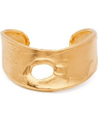 Alighieri - Echoes Of Africa Gold Plated Cuff - Lyst
