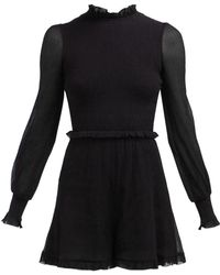 4937b7406a3 Zimmermann - Primrose Cotton And Silk Blend Playsuit - Lyst
